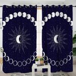 Moon & Sun Cosmic Themed Curtains