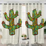 Stylized Cacti Curtains