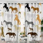 Horses Curtains