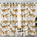 Cheetah Themed Curtains