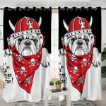 Viking Bulldog Curtains