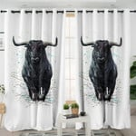 Imposing Bull Curtains