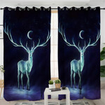 Ghostly Antler Curtains