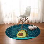 Zen Avocado Round Rug