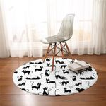 Cat Moments Round Rug