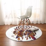Earthly Dream Catcher Round Rug