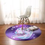 Unicorn Magic Round Rug