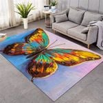 3D Giant Butterfly Rug