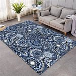 Mandala Wheel Pattern Cool Rug