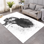 African Lady Rug