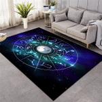Zodiac Signs Constellation Rug