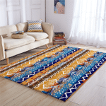 Mayan Textile Pattern Rug