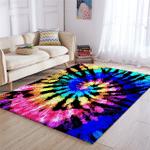 Spiral Color Flows Rug