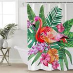 Brilliant Flamingo Shower Curtain
