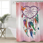 Dream Catcher Pink Blended Shower Curtain