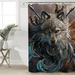 Warchief Werewolf Shower Curtain