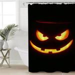 Craved Pumpkin Shower Curtain