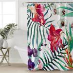 Macroshot Garden Shower Curtain