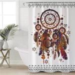 Earthly Color Dream Catcher Shower Curtain