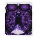 Custom Bedding Black Cat Mysthical Bedding Set