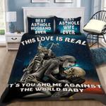 Custom Bedding Skull This Love Is Real Bedding Set