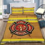 Custom Bedding Firefighter Bedding Set