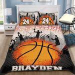 Custom Bedding Basketball Personalized Bedding Set #26483