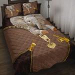 Custom Bedding Elephant Zipper Bedding Set