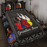 Custom Bedding Native American - Grandma Bear Bedding Set
