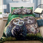 Custom Bedding Owl Love For Night Dream Bedding Set