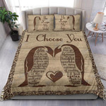 Custom Bedding Couple Penguin - The Beginning And End Of Everyday Bedding Set