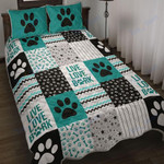 Custom Bedding Dog Shape Pattern Bedding Set