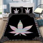 Custom Bedding Weed Hologram Bedding Set