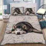 Custom Bedding Husky Bedding Set