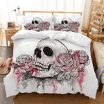 Custom Bedding 3D Sugar Skull Bedding Set #28096