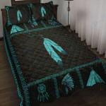 Custom Bedding Native American Blue Bedding Set