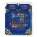 Custom Bedding Sewing Zentangle Mandala Bedding Set