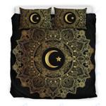 Custom Bedding Mandala Moon Bedding Set