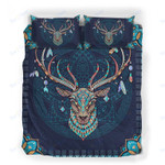 Custom Bedding Deer Zentangle Mandala Bedding Set
