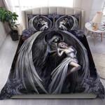 Custom Bedding Angel & Demon Skull Art Bedding Set