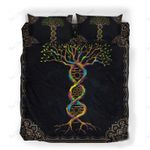 Custom Bedding Tree Of Life Wiccan God And Goddess DNA Bedding Set