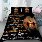 Custom Bedding Personalized Name To My Gorgeous Wife Bedding Set - Gift for Wife