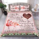 Custom Bedding Flamingo - I Choose You Bedding Set