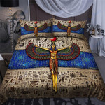 Custom Bedding Ancient Egyptian Isis Goddess Bedding Set