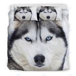 Custom Bedding 3D Husky Bedding Set