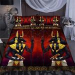 Custom Bedding Ancient Egypt Anubis God Bedding Set
