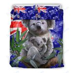 Custom Bedding Australia Koala Flag Bedding Set