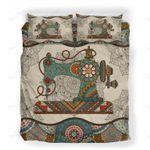 Custom Bedding Sewing Vintage Mandala Bedding Set