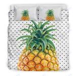 Custom Bedding Hawaii Pineapple Dots Bedding Set