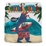 Custom Bedding Surfing Bear Bedding Set